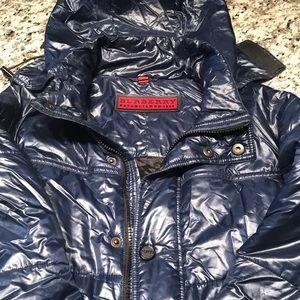 Men's blue Burberry jacket size S